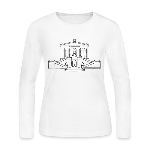 Nationalgalerie Berlin - Women's Long Sleeve Jersey T-Shirt