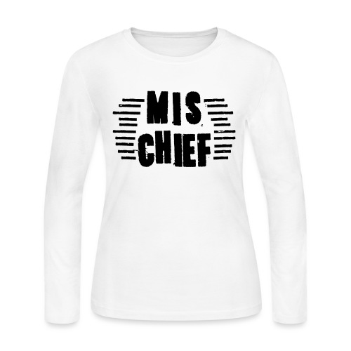 MISCHIEF SCRATCH - Women's Long Sleeve Jersey T-Shirt