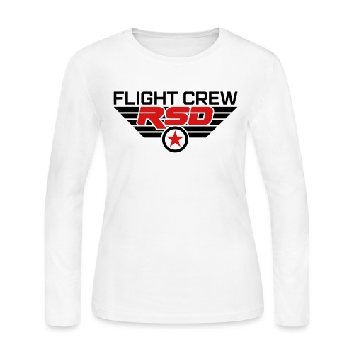 RSD Flight Crew - Women's Long Sleeve Jersey T-Shirt