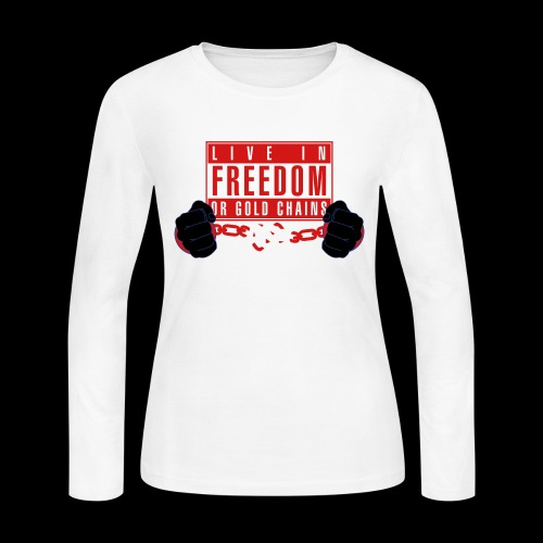 Live Free - Women's Long Sleeve Jersey T-Shirt