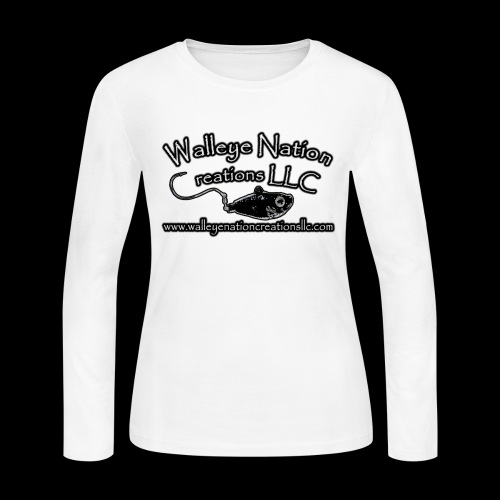 WNC Logo Front Only - Women's Long Sleeve Jersey T-Shirt