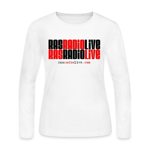 rasradiolive png - Women's Long Sleeve Jersey T-Shirt