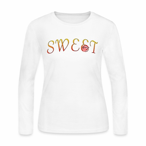 Sweet - Women's Long Sleeve Jersey T-Shirt
