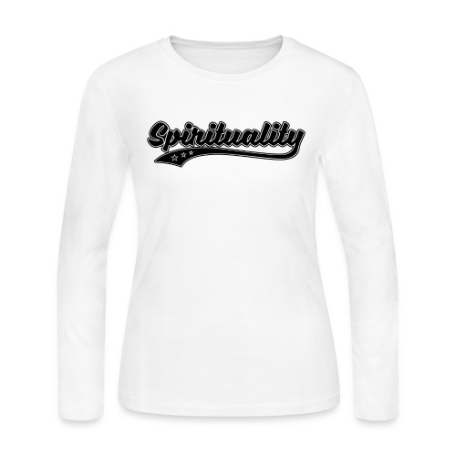 Spirituality - Women's Long Sleeve Jersey T-Shirt