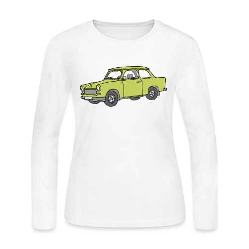 Trabant (baligreen car) - Women's Long Sleeve Jersey T-Shirt