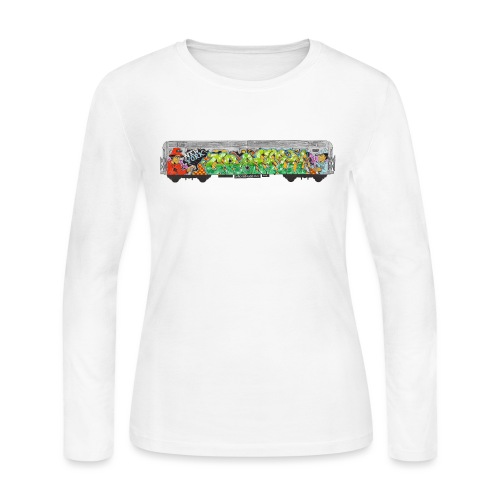 NicOne - NY Graff Design - Women's Long Sleeve Jersey T-Shirt