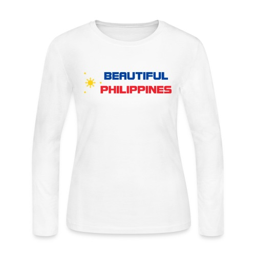 Philippines - Women's Long Sleeve Jersey T-Shirt