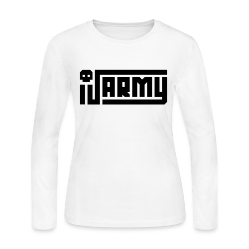 iJustine - iJ Army Logo - Women's Long Sleeve Jersey T-Shirt