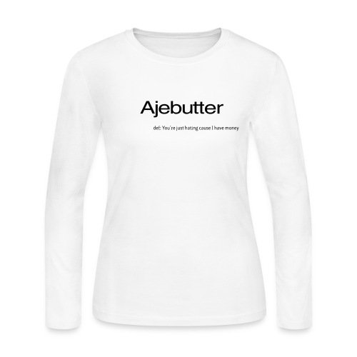 ajebutter - Women's Long Sleeve Jersey T-Shirt