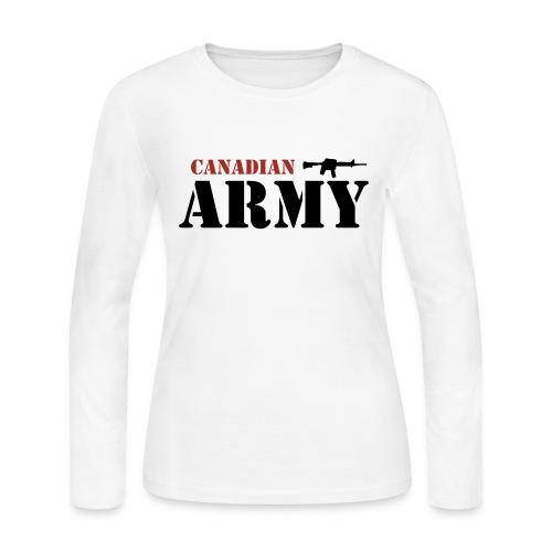 Canadian Army - Women's Long Sleeve Jersey T-Shirt