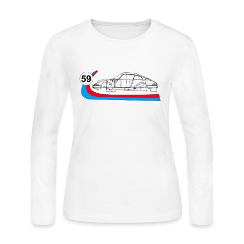 59 Vintage 911 Racing - Women's Long Sleeve Jersey T-Shirt