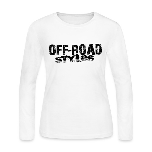 Lifted 4x4 Ford Truck Long Sleeve Shirts - Women's Long Sleeve Jersey T-Shirt