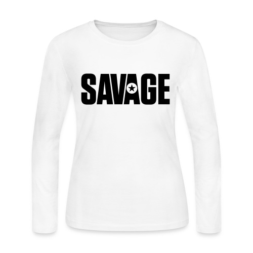 SAVAGE - Women's Long Sleeve Jersey T-Shirt