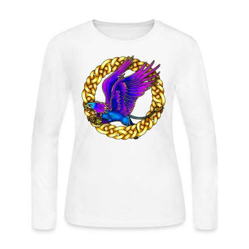 Royal Gryphon - Women's Long Sleeve Jersey T-Shirt