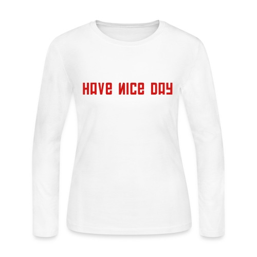 FPS Russia Have Nice Day MP Long Sleeve Shirts - Women's Long Sleeve Jersey T-Shirt