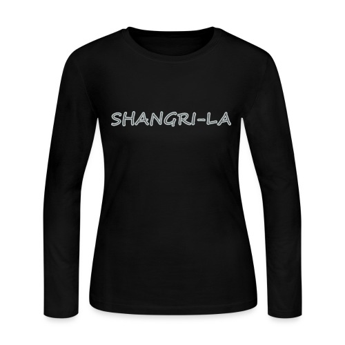 Shangri La silver - Women's Long Sleeve Jersey T-Shirt