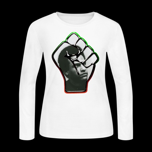 Huey Newton RBG Fist - Women's Long Sleeve Jersey T-Shirt