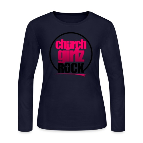 church girlz rock - Women's Long Sleeve Jersey T-Shirt