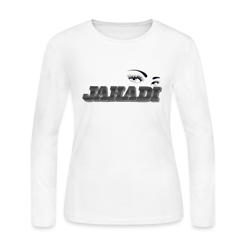 HadiLogo - Women's Long Sleeve Jersey T-Shirt