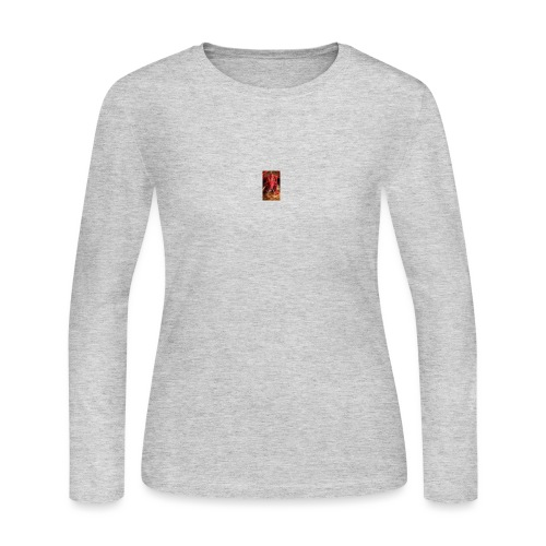 Dragon anger - Women's Long Sleeve Jersey T-Shirt