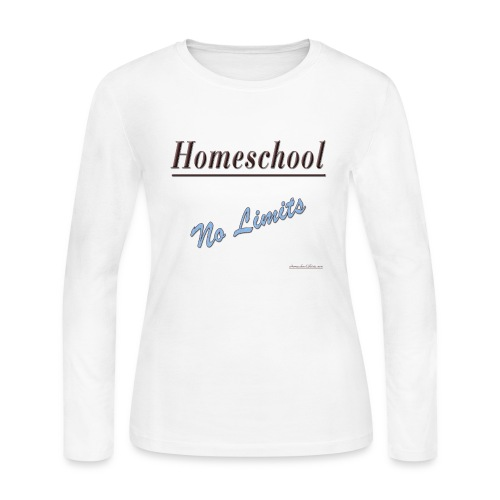 Homeschool No Limits - Women's Long Sleeve Jersey T-Shirt