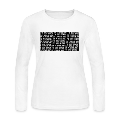 TJK First Apparel Design - Women's Long Sleeve Jersey T-Shirt