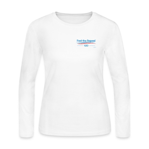 feel-the-repeal - Women's Long Sleeve Jersey T-Shirt