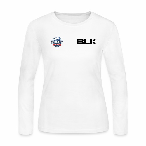 WeSpeakRugby Logo Hoodie - Women's Long Sleeve Jersey T-Shirt