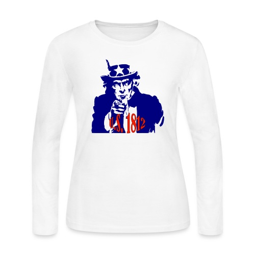 uncle-sam-1812 - Women's Long Sleeve Jersey T-Shirt