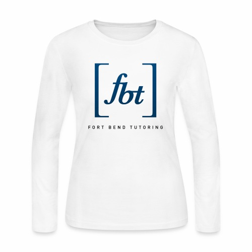 Fort Bend Tutoring Logo [fbt] - Women's Long Sleeve Jersey T-Shirt