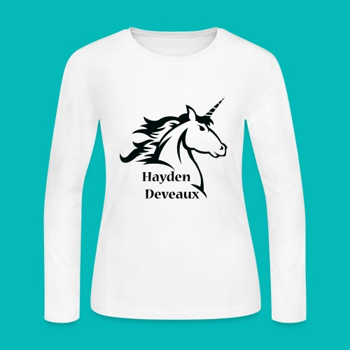 Unicorn - Women's Long Sleeve Jersey T-Shirt