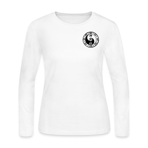 SWC LOGO BLACK - Women's Long Sleeve Jersey T-Shirt