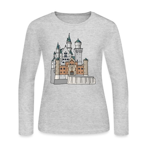 Neuschwanstein Castle, Bavaria - Women's Long Sleeve Jersey T-Shirt