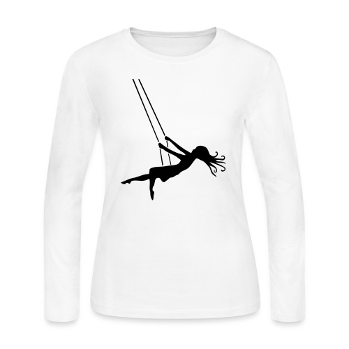 Swinging Girl - Women's Long Sleeve Jersey T-Shirt