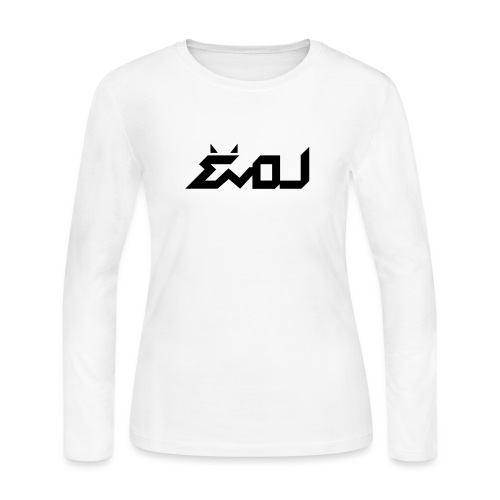 evol logo - Women's Long Sleeve Jersey T-Shirt