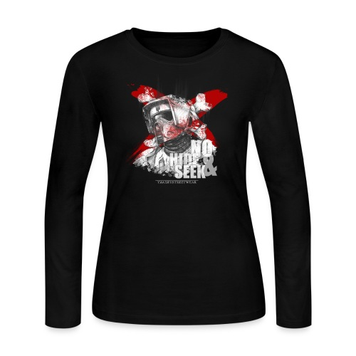 No hide & Seek - Women's Long Sleeve Jersey T-Shirt