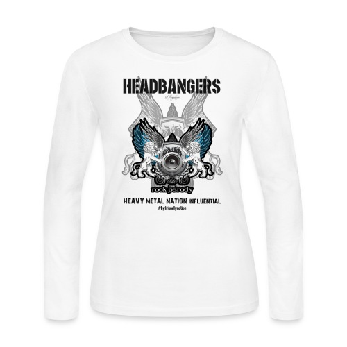 We, The HeadBangers - Women's Long Sleeve Jersey T-Shirt