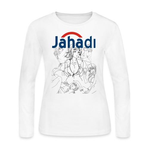 HADIBITCHES - Women's Long Sleeve Jersey T-Shirt