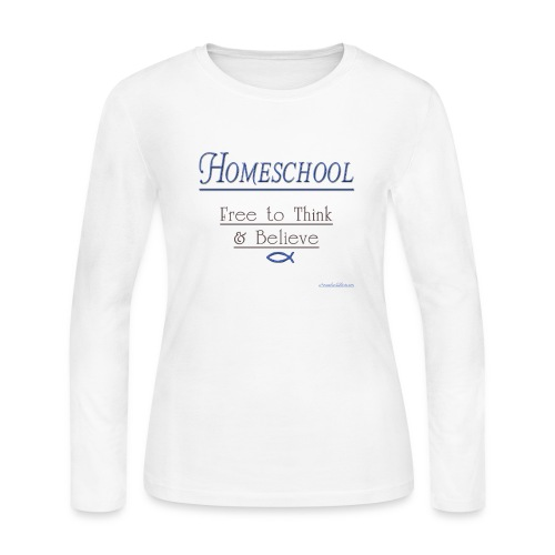 Homeschool Freedom - Women's Long Sleeve Jersey T-Shirt