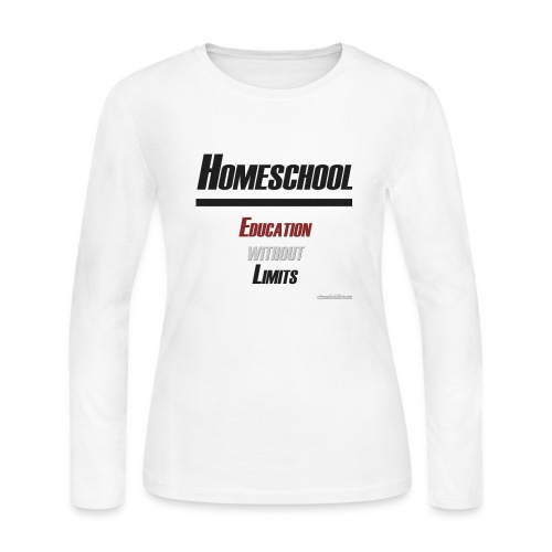 Homeschool Without Limits - Women's Long Sleeve Jersey T-Shirt