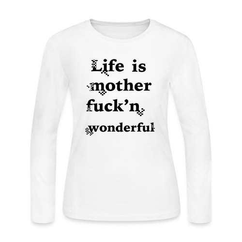 wonderful life - Women's Long Sleeve Jersey T-Shirt