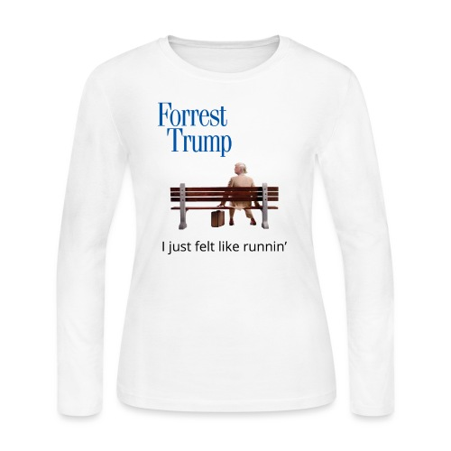 Forrest Trump - Women's Long Sleeve Jersey T-Shirt