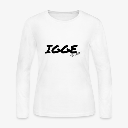 IGGE by Felix - Women's Long Sleeve Jersey T-Shirt