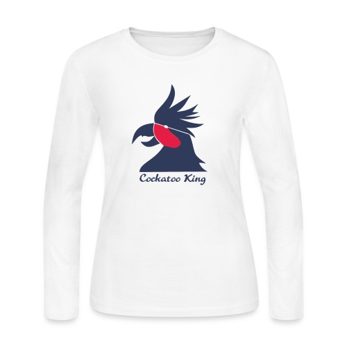 Cockatoo Logo - Women's Long Sleeve Jersey T-Shirt