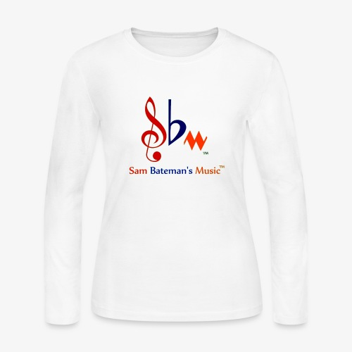 Sam Bateman's Music - Women's Long Sleeve Jersey T-Shirt
