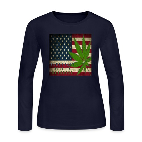 Political humor - Women's Long Sleeve Jersey T-Shirt