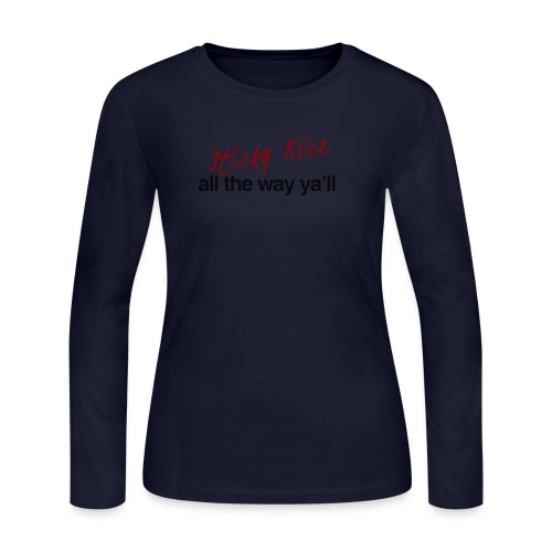 Sticky Rice - Women's Long Sleeve Jersey T-Shirt