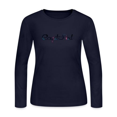 My YouTube Watermark - Women's Long Sleeve Jersey T-Shirt