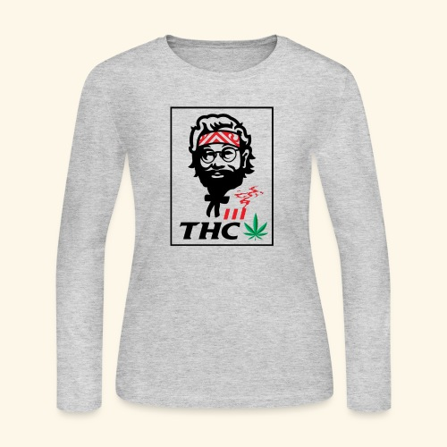 THC MEN - THC SHIRT - FUNNY - Women's Long Sleeve Jersey T-Shirt