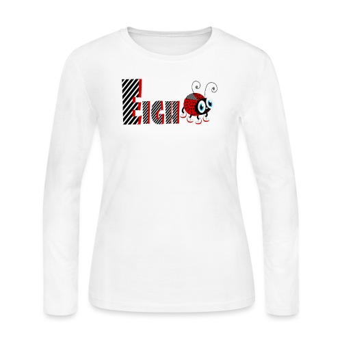 8nd Year Family Ladybug T-Shirts Gifts Daughter - Women's Long Sleeve Jersey T-Shirt